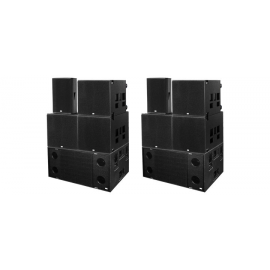 Thunderdome-speaker set (prijs p.p.)