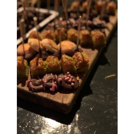 Chocoladefontein met chocoladefeest (totaalprijs voor +/- 100 personen)