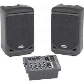 Middel-speaker set (prijs p.p. tot 60 personen)
