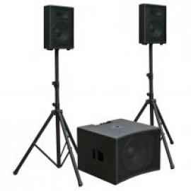 Uitgebreide-speaker set (prijs p.p.)